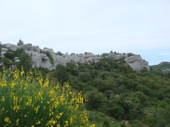 Alpilles rocky landscape
